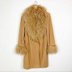 VINTAGE AMAZING Lambswool Almost Famous 70's Coat